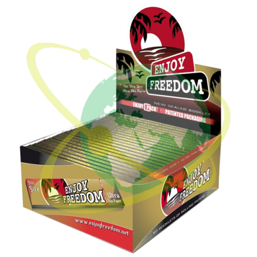 Enjoy Freedom cartina lunga - Mondo del Tabacco
