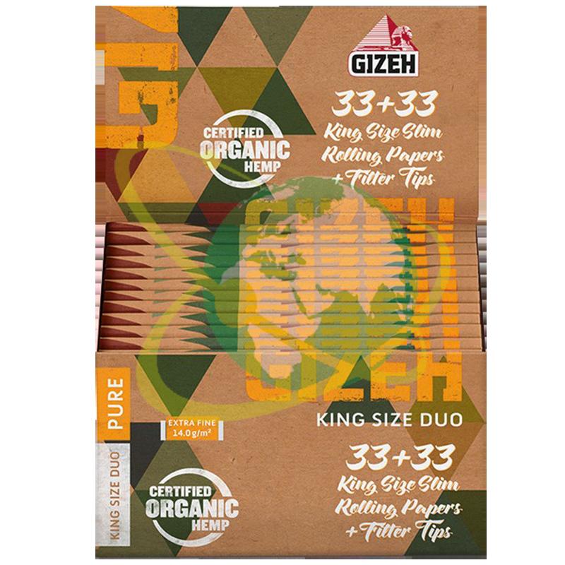 Gizeh organic - Mondo del Tabacco