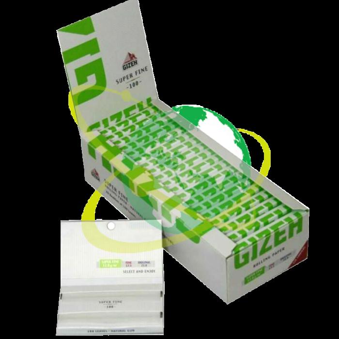 Gizeh corta verde - Mondo del Tabacco