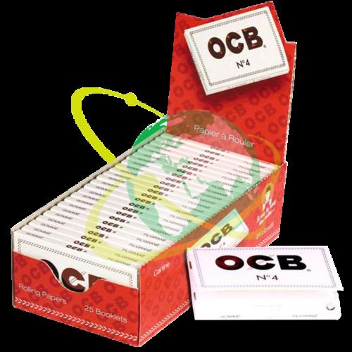 OCB cartina Bianca 4 doppia - Mondo del Tabacco