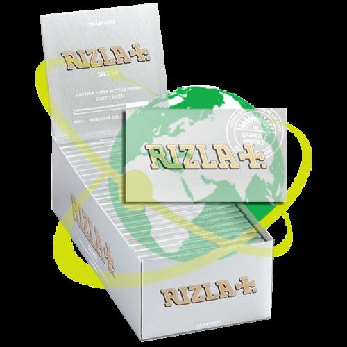 Rizla cartine Silver doppia - Mondo del Tabacco