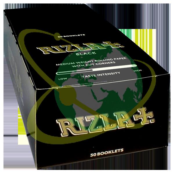 Rizla cartine Nera - Mondo del Tabacco