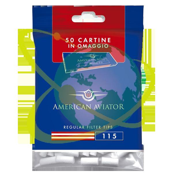 American Aviator filtro regular - Mondo del Tabacco