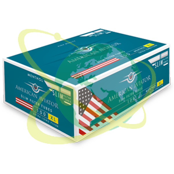 American Aviator tubetto mentolo XL - Mondo del Tabacco