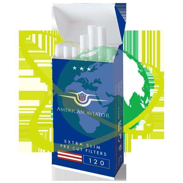 American Aviator filtro ultraslim - Mondo del Tabacco