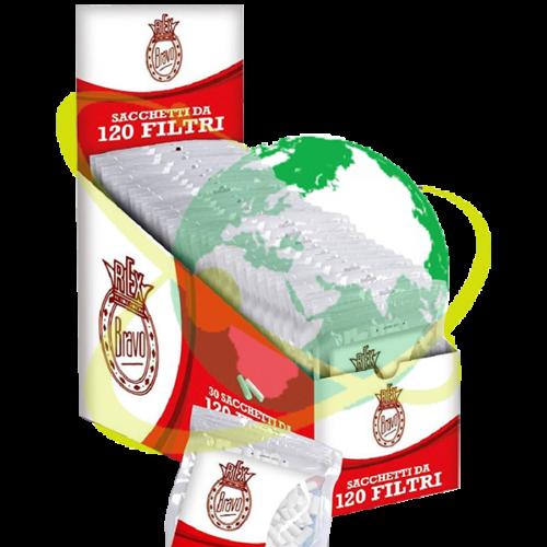 Bravo Rex filtro slim - Mondo del Tabacco