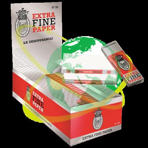 Bravo Rex cartine extra fine - Mondo del Tabacco