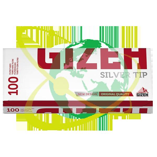 Gizeh tubetto Silver - Mondo del Tabacco