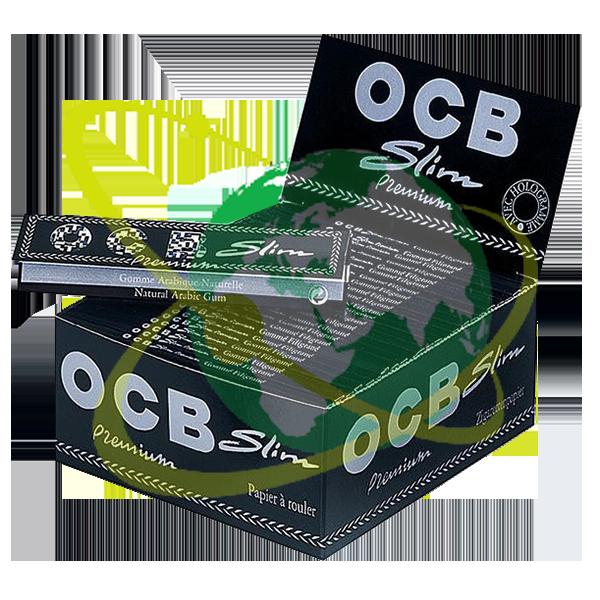 OCB cartina nera Premium lunga - Mondo del Tabacco