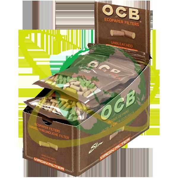 OCB filtro slim Virgin - Mondo del Tabacco