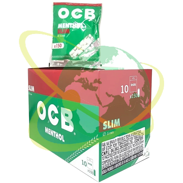 OCB filtro slim mentolo - Mondo del Tabacco