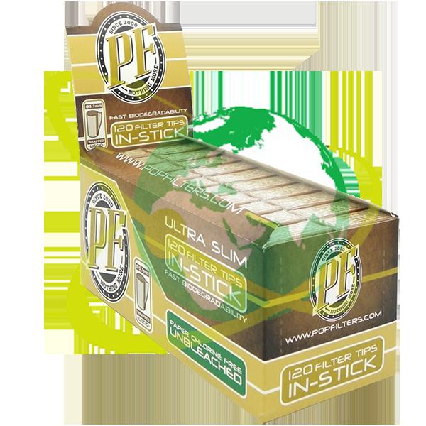 Pop Filters filtro ultraslim bio - Mondo del Tabacco