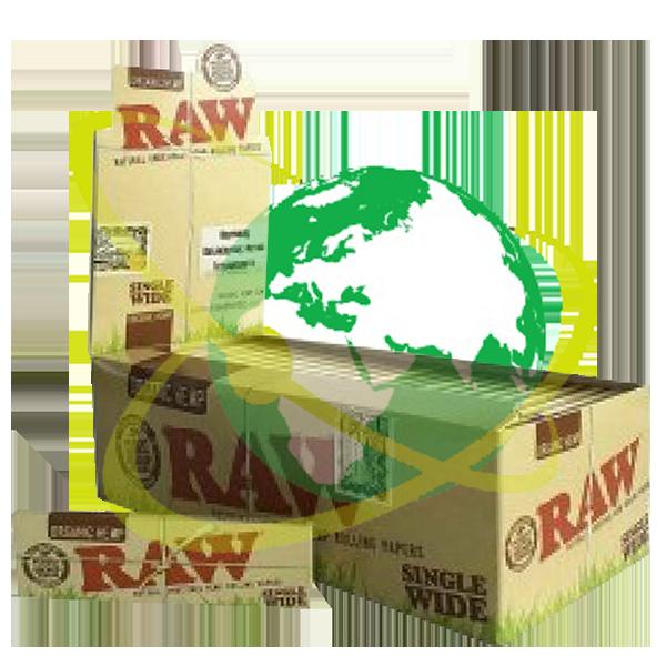 RAW cartina regular organic - Mondo del Tabacco