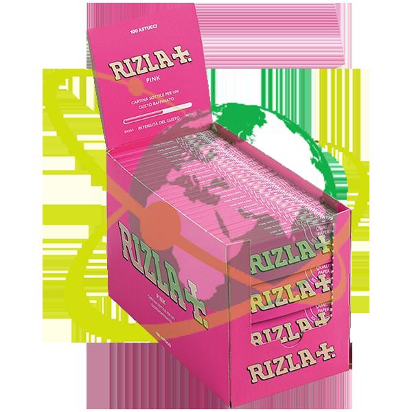 Rizla cartine Pink - Mondo del Tabacco
