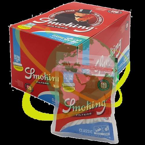 Smoking filtro ultraslim Long - Mondo del Tabacco