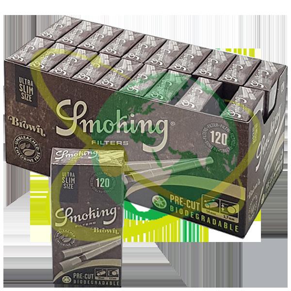 Smoking filtro ultraslim brown - Mondo del Tabacco