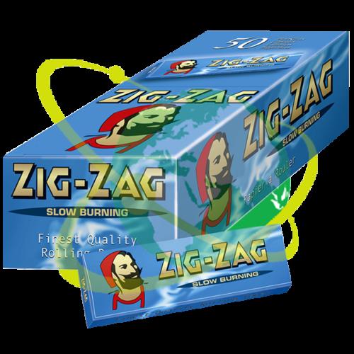 Zig-Zag cartina Blu - Mondo del Tabacco
