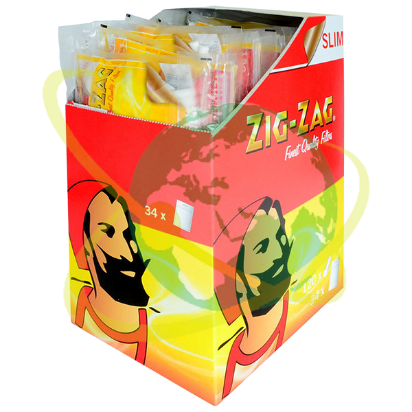Zig-Zag filtro slim - Mondo del Tabacco