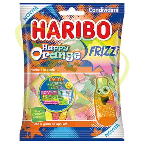 Haribo happy orange frizz - Mondo del Tabacco