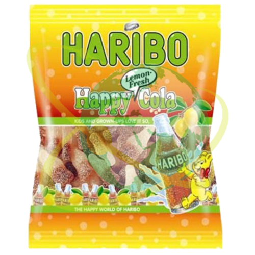 Haribo happy cola lemon - Mondo del Tabacco