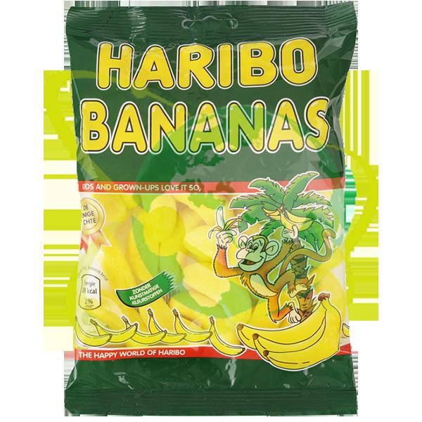 Haribo bananas - Mondo del Tabacco