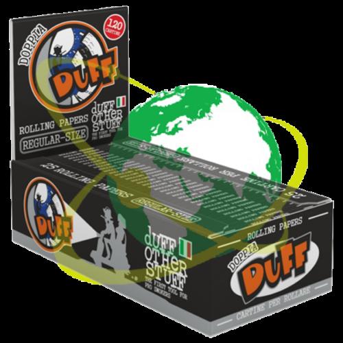 Duff cartina nera - Mondo del Tabacco