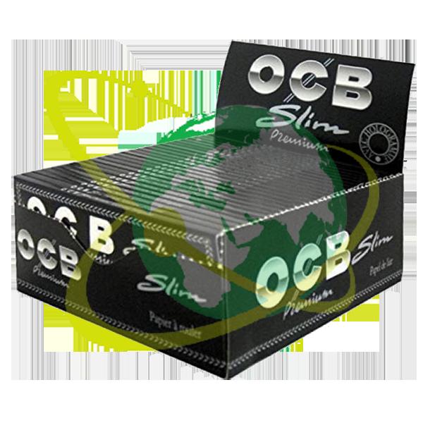 OCB premium black slim - Mondo del Tabacco