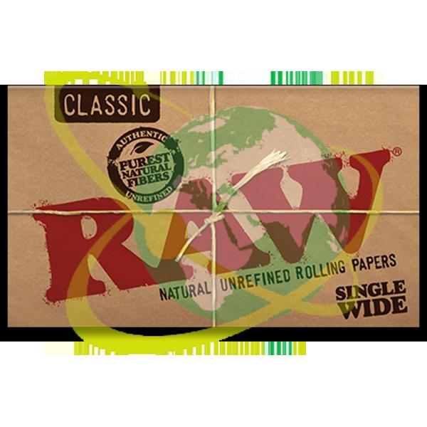 Raw Classic single wide doppia - Mondo del Tabacco