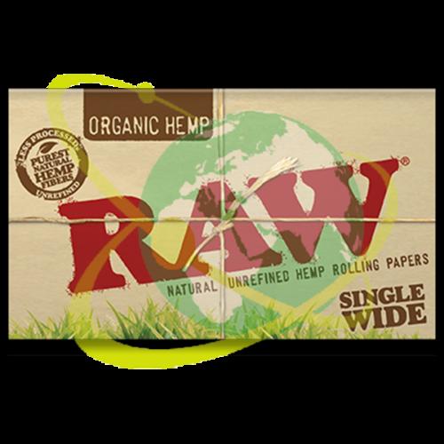 Raw organic doppia - Mondo del Tabacco