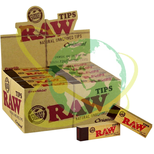 Raw tips - Mondo del Tabacco