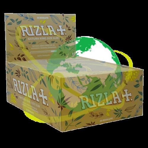 Rizla cartine Natura king size - Mondo del Tabacco